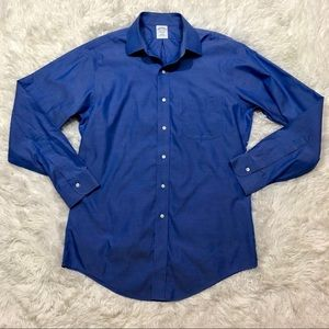Brooks Brothers size 15.5-34 blue oxford shirt